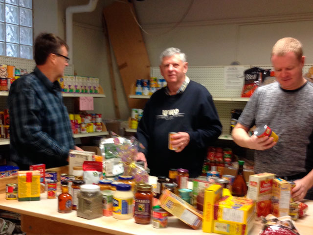 Churches on-the-Hill Foodbank community information centre