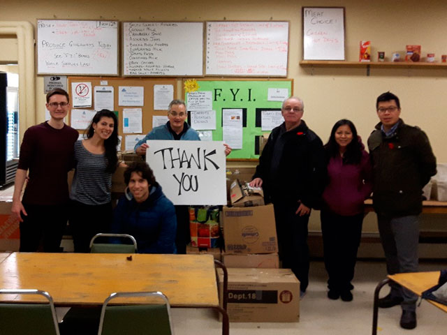 Churches on-the-Hill Foodbank thanks supporters